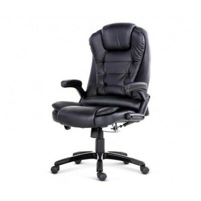 Massage Office Chair Racing Executive Heat Recliner Computer PU Leather.