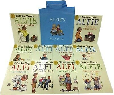 NEW BAG x 10 ALFIE books by Shirley Hughes Alfie's Numbers Prize Feet Big Boys