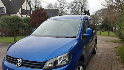 wheelchair access vw caddy maxi life auto NO RESERVE