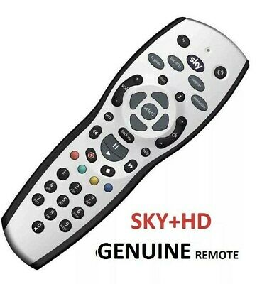 NEW SKY PLUS HD BOX REMOTE CONTROL 2019 REV 9f REPLACEMENT BATTERIES INCLUDED