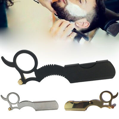 Barber Salon Straight Cut Throat Wet Stainless Steel Shaving Cutter Beard Razor
