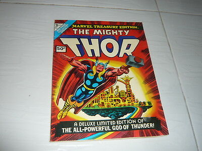 Marvel Comics Large Size 1974 The Mighty Thor Treasury Edition 100 pages cartoon
