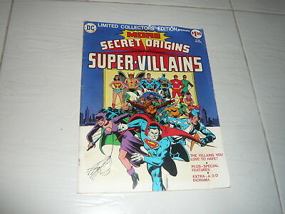 DC Comics Large size Secret Origins of Super Villains C45 Superman Batman Flash