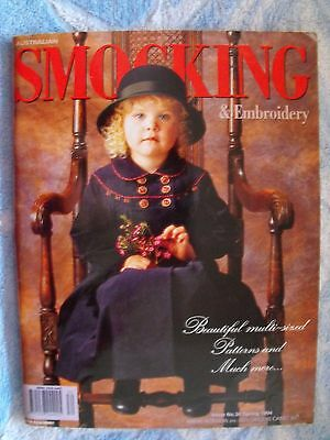 Australian Smocking & Embroidery Magazine - Issue 30 - 1994 - Rare Find
