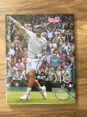 Wimbledon Championships 2016 Annual Book Official Tennis Andy Murray Serena