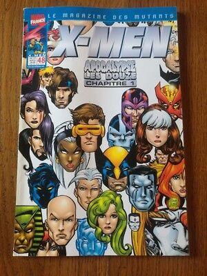 Marvel France - X-Men Apocalypse Les Douze - T.48 - Rare