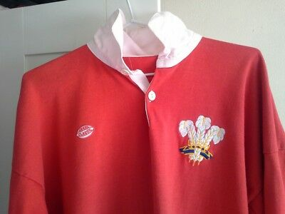 Wales Rugby Jersey (Classic)