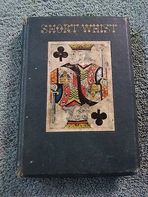 """Old Book Cr.1880""""the Laws Of Short Whist"""" By James Clay Pub. By Henry Holt & Co."""