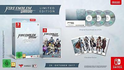 Nintendo Switch Game Fire Emblem Warriors Limited Edition DHL Quick Shipping New