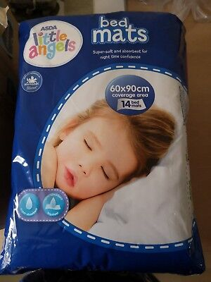 Bed Mats x10 Pack 90 x 60 cm Absorbent Disposable Baby Changing Cot Incontinenc