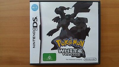 Pokemon White Version - Complete Box - Nintendo DS 2DS 3DS - Free Shipping!
