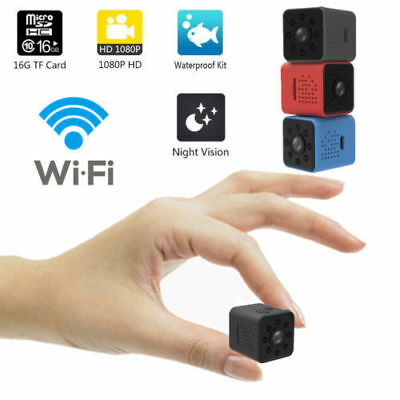 SQ23 HD WIFI Mini-Kamera Nachtsicht-Camcorder 1080P DVR Micro Video Sensor Cam