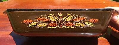 Anchor Hocking Pyrex - Amber Harvest Wheat Teflon Lined Loaf Pan