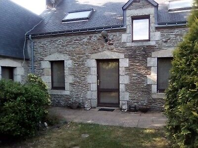 House With Lake Set In Beautiful Grounds In Brittany For Sale/ Swap