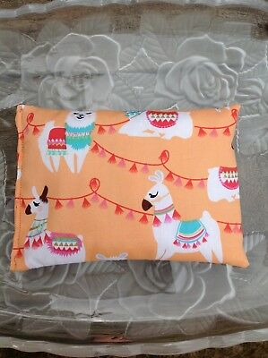 Llama Rice Pack, use as a Cold Pack Hot Pack, Heat pack. Hand made in Australia