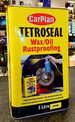 Tetrosyl Carplan Wax/Oil Rustproof Protector CLEAR 5L
