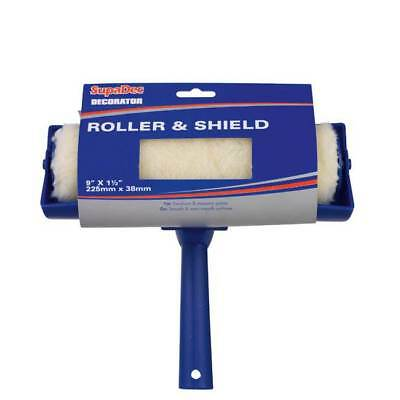 "Decorators 9"" Paint Roller With Built In Shield - Splatter Guard - Brand New"