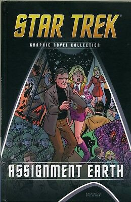 Star Trek Graphic Novel Collection Volume 23 Assignment Earth VGC