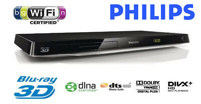 Blu Ray DVD Player von Philips BDP 5500 , HDMI , USB , 3D .