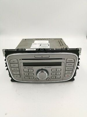 Ford Focus 6000 CD Radio CD Player - 8M5T-18C815-AB - Tested With Code - Silver