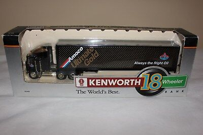Amoco Kentworth Semi Bank With Ultimate Gold Trailer