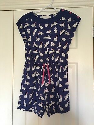 mini boden gorgeous rabbit bunny playsuit girls age 11-12