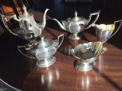 5 Pc. Sterling Silver Coffee/tea Set