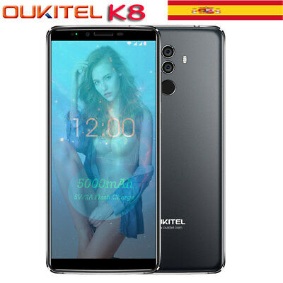 Oukitel K8 4G 64GB TF(SD) 256GB Android 8.0 5000mAh OctaCore 4G Móvil Smartphone