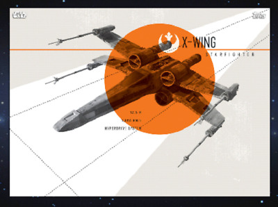 TOPPS STAR WARS CARD TRADER Vintage Vibes X-WING