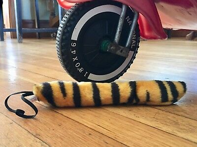Vintage Exxon/Esso plush tiger tail 1970s new old stock Vespa Lambretta Stingray