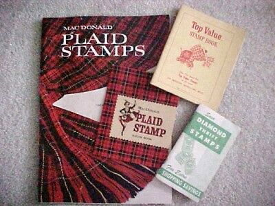 Macdonald, Top Value,  Etc Vintage Trading Stamps And Catalog