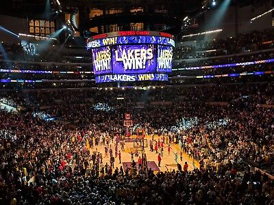 2 Tickets - Sec 217 Row 9 - 1/21/19 LA Lakers VS Golden State Warriors *must see