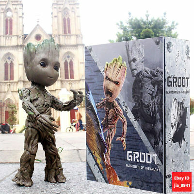 Groot Life-Size Action Figure Hot Toys Guardians of The Galaxy Vol. 2 LMS