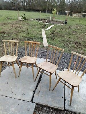 Ercol Model 391 Windsor dining  chairs