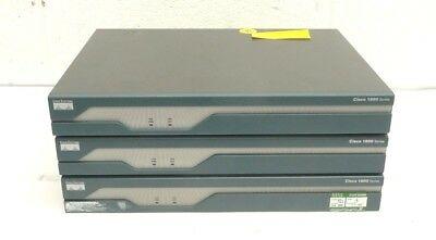 Job Lot of 3 x Cisco 1800 Series 1840/1841 Integrated Services Routers