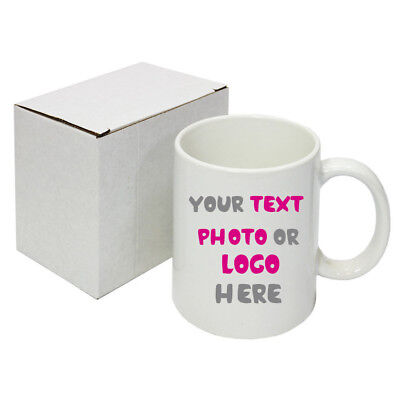 Personalised Mugs Bulk From 50 To 100 Mugs For Company Promotional