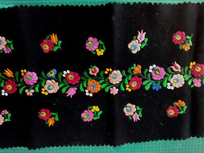 Vintage Traditional Portuguese embroidered fabric