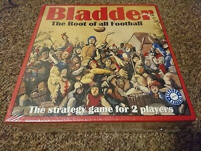 Bladder The Root of all Football, SEALED Strategy chess board Game vintage NEW