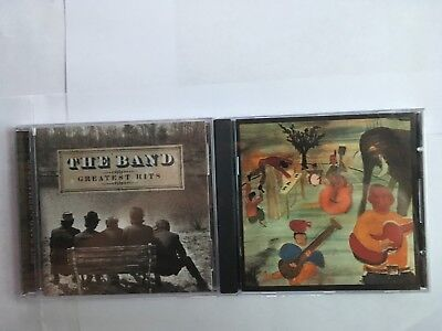 THE BAND:2 CD's BOTH BRAND NEW STILL WRAPPED,MUSIC FROM BIG PINK + GREATEST HITS