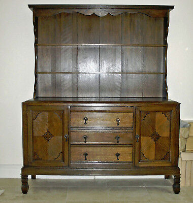 Antique Oak Welsh Dresser - Late Victorian to Edwardian era