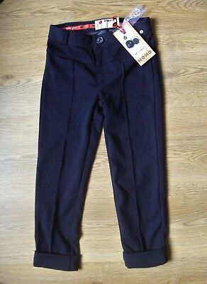 Girl's NONO NoNonesense Navy Pants Trousers Age 6 RRP £44 - New With Tags