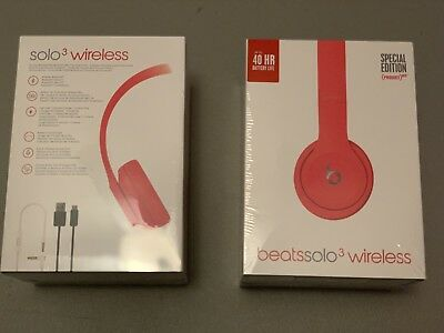 Beats by Dr. Dre Solo3 Wireless On-Ear Headphones - Product Red