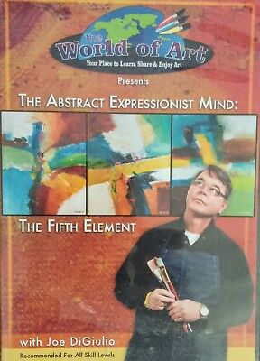 Art Instruction DVD  The Abstract Expressionist Mind:the 5th Element