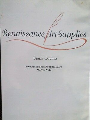 Frank Covino Art Instruction Two Dvds-- #5A and  5B  Portrait  with book