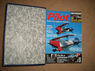 11 Pilot Magazines In Binder From April 2005 - March 06 Ex Nov 05 Excellent Cond