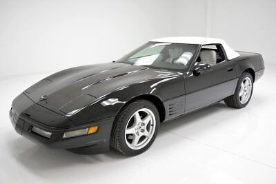 1992 Chevrolet Corvette Convertible Rare Color Combo 20k Original Miles