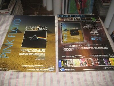 Pink Floyd-Dark Side Of The Moon-1 Poster-2 Sided-11X17 Inches-Nmint-Rare!!!!