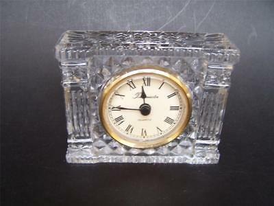 Vintage Crystal Timemaster Quartz Battery Clock - New Battery - Working