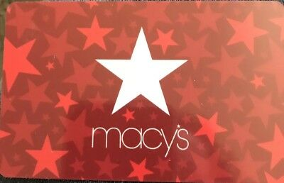 Macy's $25 Gift Card No Expiration Date