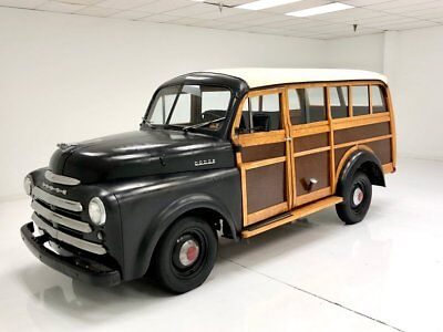 1949 Dodge B1B Woody Wagon  One Family Owned Since New Fascinating History 448,000 original Miles